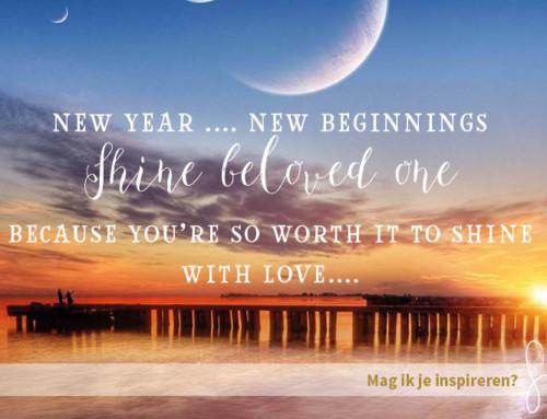 Een nieuw jaar… Een nieuw begin!